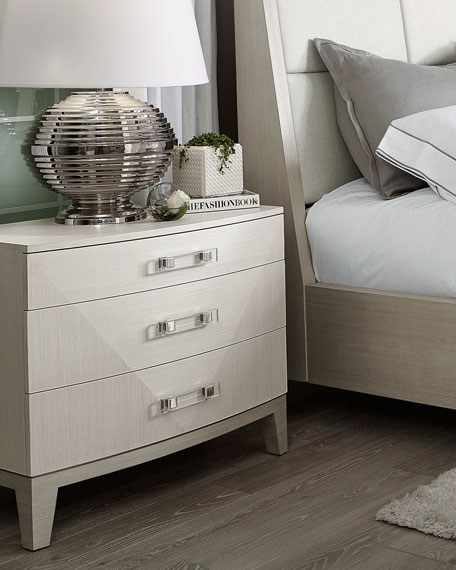 Bernhardt Axiom Large 3-Drawer Nightstand