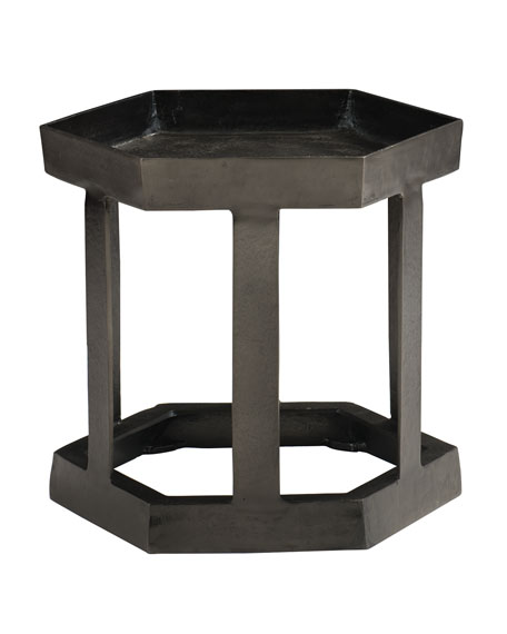 Bernhardt Benson Hexagon Chairside Table