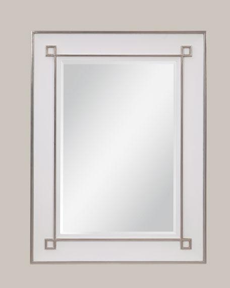 Gorbon White Wall Mirror