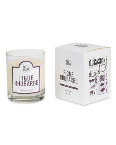 Fig Rhubarb Scented Candle  190 g