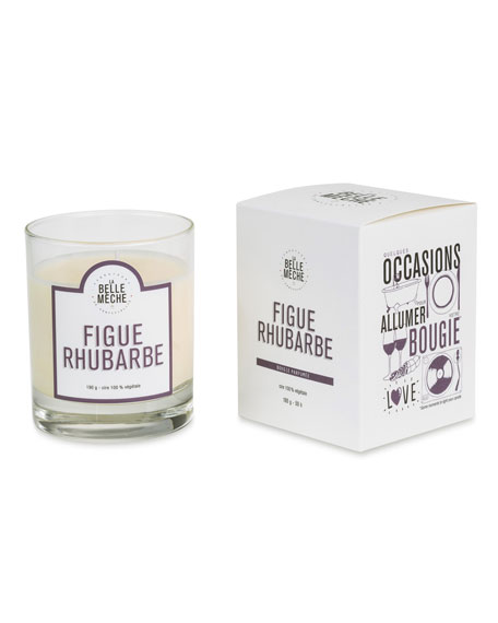 La Belle Meche Fig Rhubarb Scented Candle, 190 g