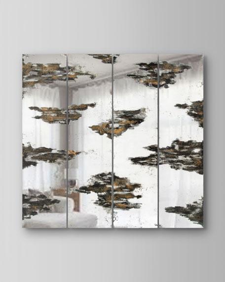 John-Richard Collection Cumulus Wall Panels Decor, Set of 4