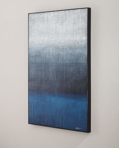"Image 2 of 2: John-Richard Collection ""Waters Edge"" Handmade Painting Wall Art by Liu Mengzhou"