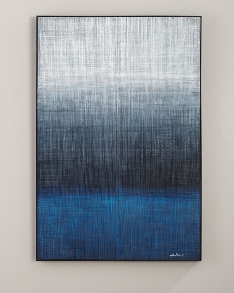 "Image 1 of 2: John-Richard Collection ""Waters Edge"" Handmade Painting Wall Art by Liu Mengzhou"