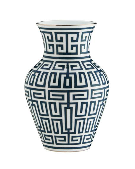 Richard Ginori 1735 Labirinto Small Ming Vase
