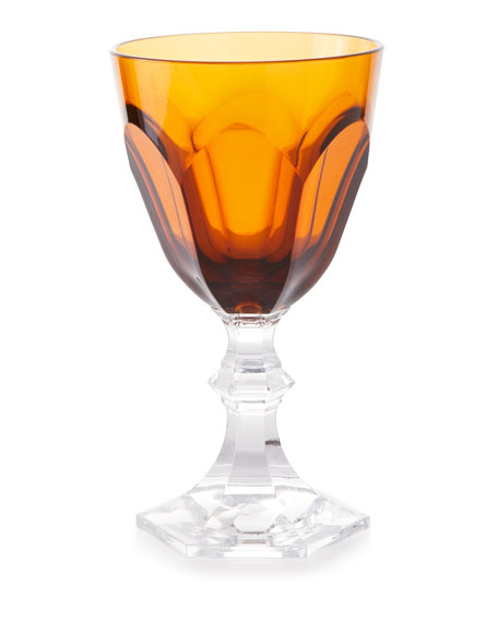 Mario Luca Giusti Dolce Vita Acrylic Wine Goblet Glass