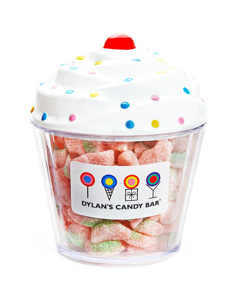 Dylan's Candy Bar Cupcake with Sour Watermelon