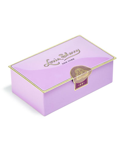 Amethyst Two-Piece Chocolate Truffle Tin