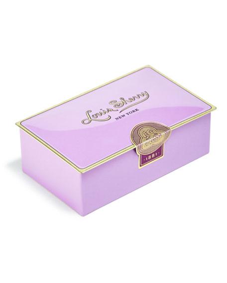 Louis Sherry Amethyst Two-Piece Chocolate Truffle Tin