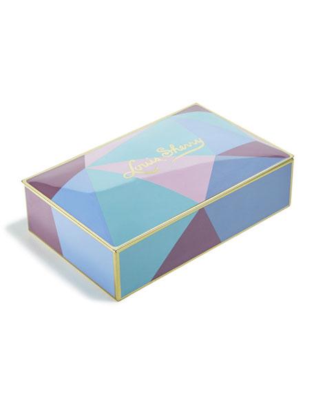 Louis Sherry Cubist 12-Piece Assorted Chocolate Truffle Tin