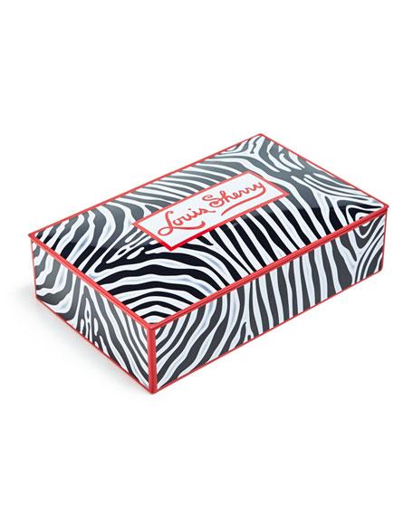 Louis Sherry Zebra 12-Piece Assorted Chocolate Truffle Tin