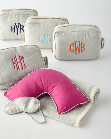 The Pillow Bar Travel Companion Set, Personalized