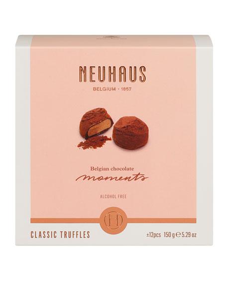 Neuhaus Chocolate 12-Piece World's Best Classic Truffles Box