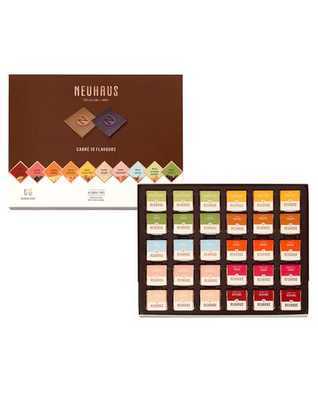 Neuhaus Chocolate 60-Piece Milk & Dark Chocolate Assortment