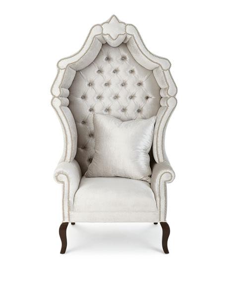 Haute House Antoinette Hooded Hostess Chair