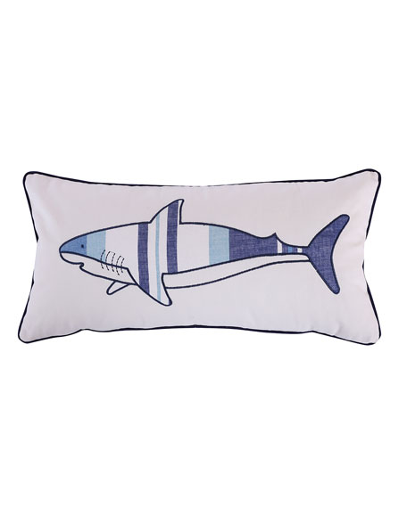 Levtex Sammy Shark Printed Pillow