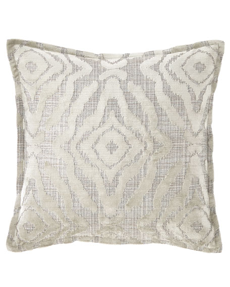 "Isabella Collection by Kathy Fielder Jaden Pillow, 18""Sq."