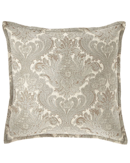 "Isabella Collection by Kathy Fielder Jaden Pillow, 22""Sq."