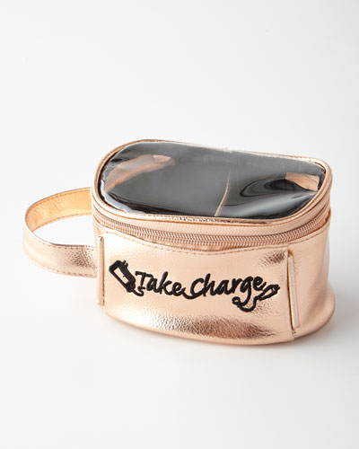 Small Take Charge Case  Rose Gold