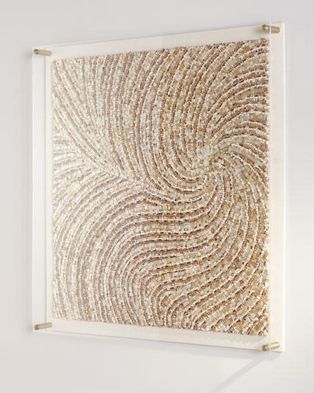 Palecek Balboa Acrylic Wall Decor
