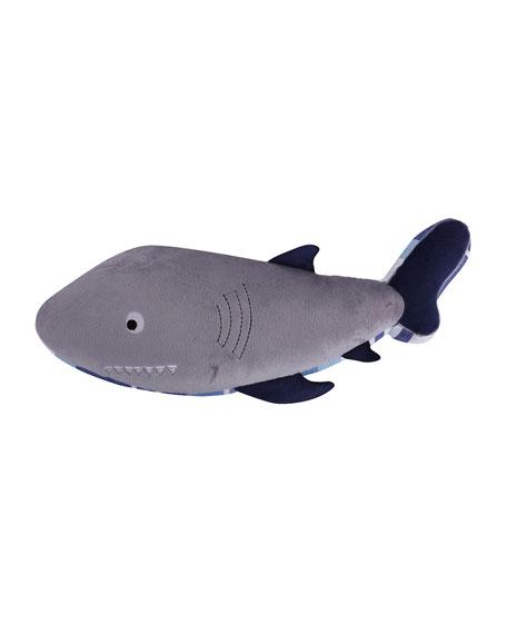 Levtex Kids' Sammy Shark Shaped Pillow