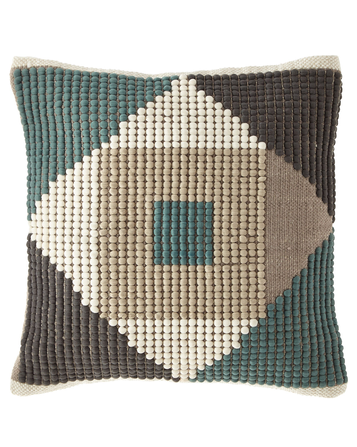 Geo-Shape Colorblocked Pillow