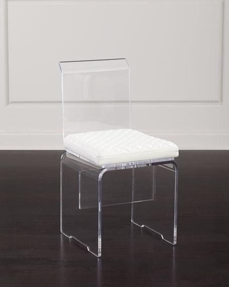 John-Richard Collection Lex Modern Lucite Chair