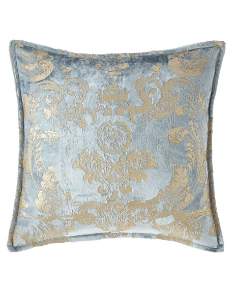 Isabella Collection by Kathy Fielder Gabriella Damask Pillow