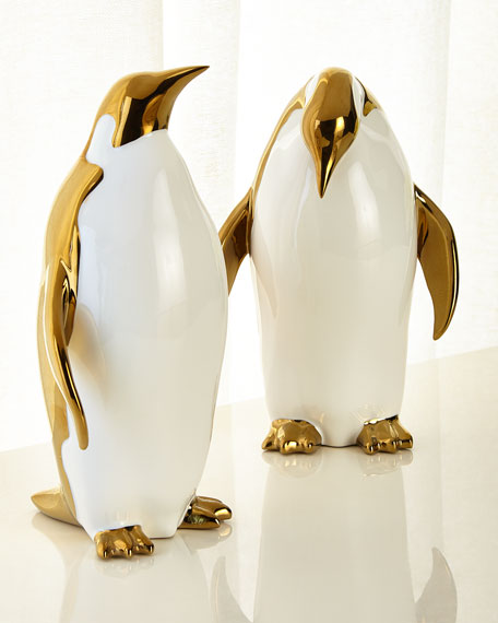Port 68 Penguin Objects Decor, Set of 2