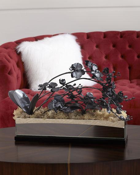 John-Richard Collection Smoky Floral Arrangement