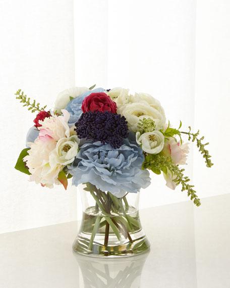 John-Richard Collection Peony Bouquet