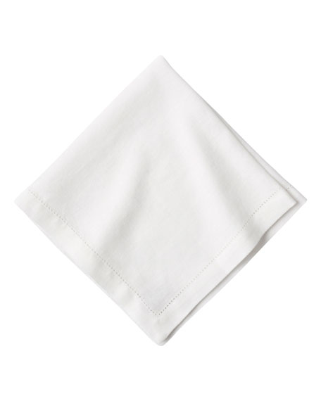 Juliska Heirloom Linen Napkin, White