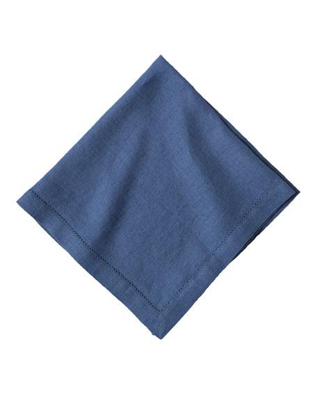Juliska Heirloom Linen Napkin, Delft Blue