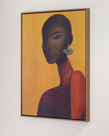"Image 2 of 2: ""Ines"" Giclee Canvas Wall Art by Michel Smith Boyd"