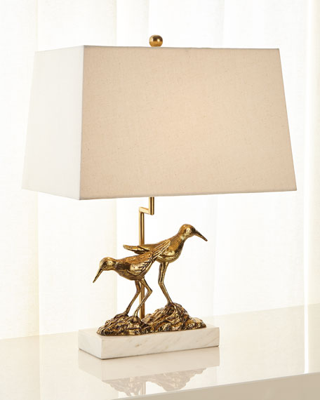 Image 2 of 2: John-Richard Collection SANDPIPER TABLE LAMP