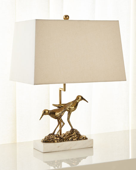 Image 1 of 2: John-Richard Collection SANDPIPER TABLE LAMP