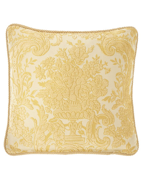 "Austin Horn Collection Serafina Pillow, 20""Sq."