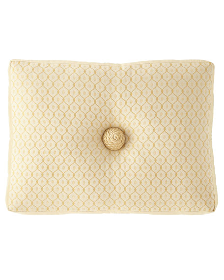 "Austin Horn Collection Serafina Boxed Boudoir Pillow, 15"" x 20"""