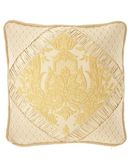 "Austin Horn Collection Serafina Pillow, 18""Sq."