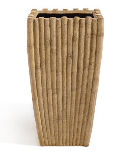 Indoor/Outdoor Bamboo Planter