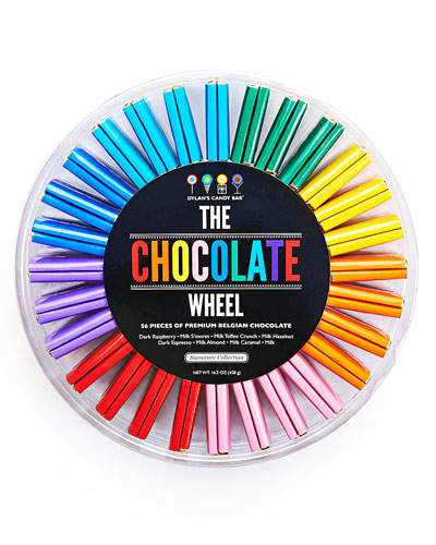56-Piece Chocolate Wheel