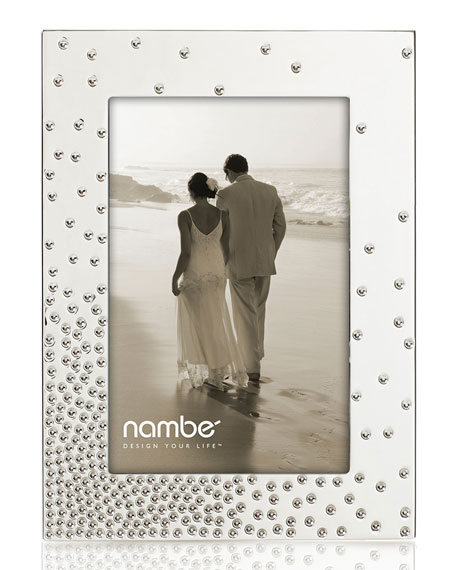"Nambe Dazzle Picture Frame, 4"" x 6"""