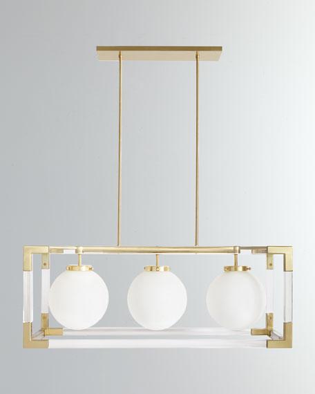 Jonathan Adler Jacques 3-Light Pendant
