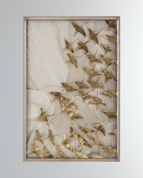 "John-Richard Collection ""Robot's Birds In Flight"" Wall Art"