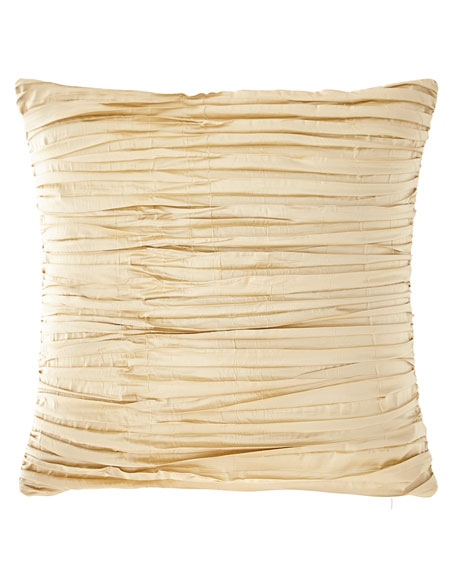 Sweet Dreams Foiled Crushed Silk Boutique Pillow