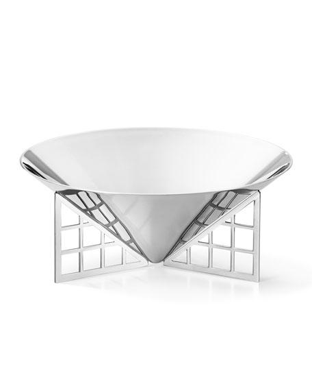 Georg Jensen Matrix Mirror Stainless Steel Small Bowl
