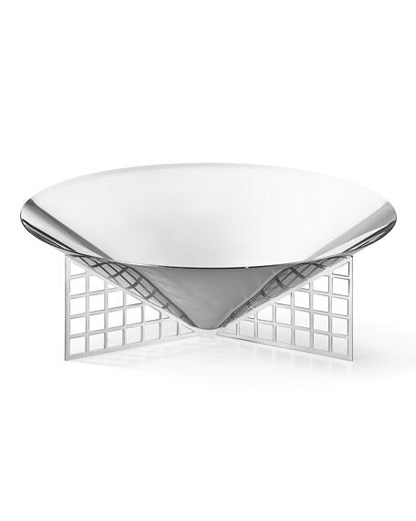 Georg Jensen Matrix Mirrored Stainless Steel Medium Bowl