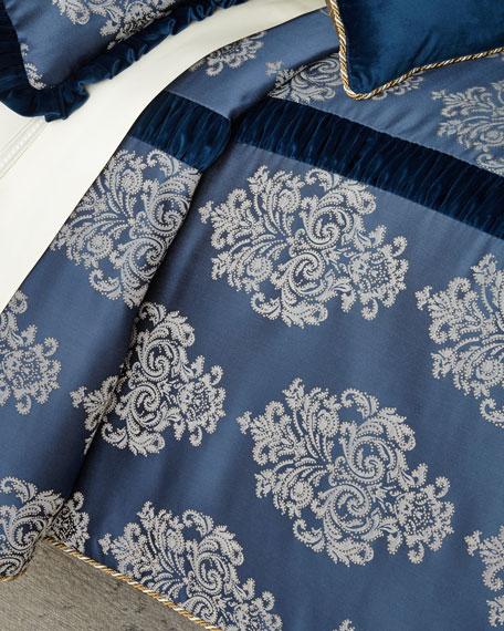 Dian Austin Couture Home Belle Damask King Duvet