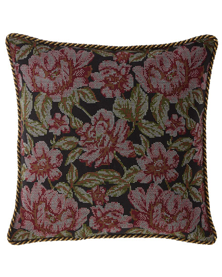 Dian Austin Couture Home Macbeth Floral European Sham