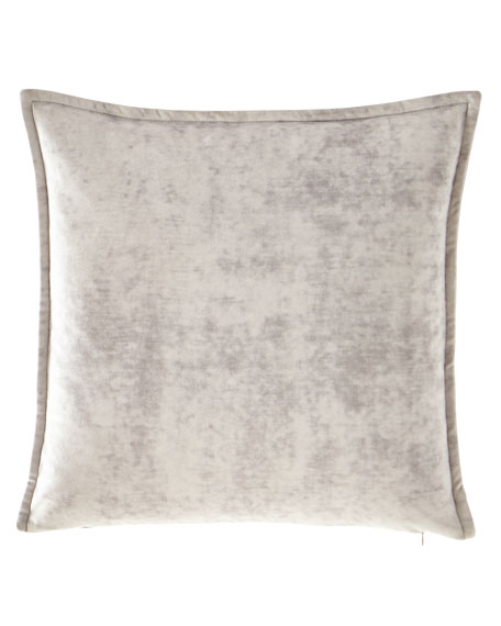 Austin Horn Collection All in Bloom Solid Velvet Pillow